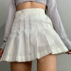 Vintage Nike Pleated Tennis Skirt